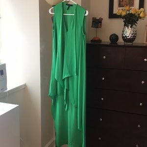 Green BCBG dress